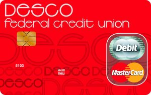 Desco federal credit union debit card art