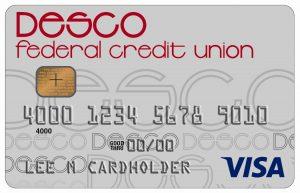 desco federal credit union credit card art