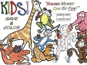 kids save & color